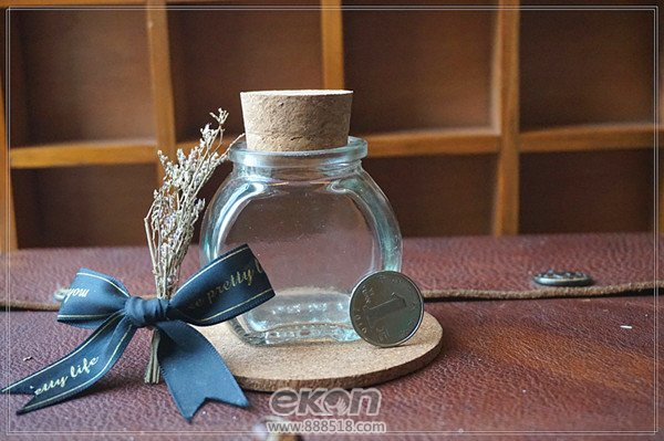 DIY蜡烛造型许愿瓶